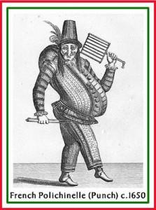 16Pulchinelle c.1650